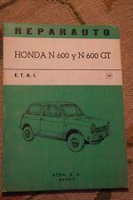 HONDA N600 N 600 GT N600GT MANUAL DE TALLER REPARACION WORKSHOP REVUE TECHNIQUE