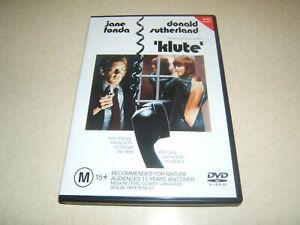 KLUTE : JANE FONDA  1971  CLASSIC      REGION NTSC 4 DVD  UK COMPATIBLE