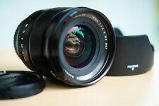 Beatiful FUJIFILM XF 16mm f/1.4 R WR w/ ZEISS Made in Japan UV Filter +hood+caps