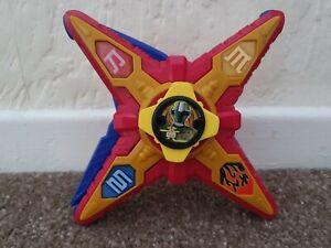 Bandai Power Rangers Ninja Steel DX Ninja Battle Morpher star sounds yellow