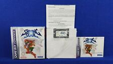 Gameboy Advance SHINING SOUL Rpg Official BOXED & COMPLETE PAL UK