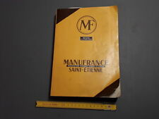 Ancien catalogue livre Manufrance manufacture francaise d'armes et cycles