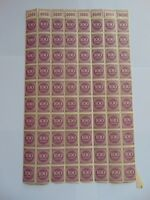 Bogenteil Deutsches Reich 100 Mark, 1923, Mi 268 a