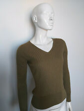 MASSIMO DUTTI women's top long sleeve / blouse size M