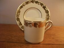 Wedgwood Gold Whitehall demitasse cup & saucer W4000