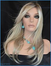Kaia Palm Springs Blond Lace Front Monofilament Hand Tied Jon Renau Wigs