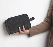 Black Durable Travel Toiletry Bag Cosmetic Bag Organiser