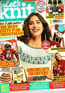 Let's Knit Magazine Issue 150 Christmas 2019 With Nativity part 2 pattern