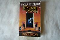THE LABYRINTH DREAMS Jack L Chalker 1987 Sci-Fi Mystery Mission Detective Couple