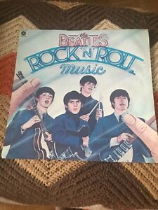 Beatles Rock and Roll Music Album Cover Print
