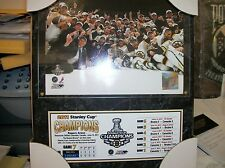 2011 BOSTON BRUINS STANLEY CUP CHAMPIONS PLAQUE