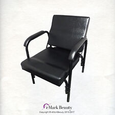 AutoRecline Black Shampoo Chair w/ LUMBAR Support Barber/Salon Chair TLC-216