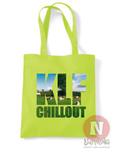 KLF chillout tote bag classic rave ambient chill shopping cotton environmental