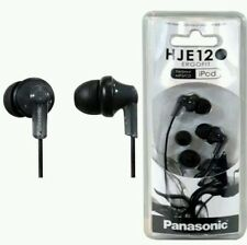 Panasonic RP-HJE120 In Ear Headphones - Black