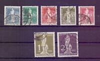 Berlin 1949 - UPU Stephan - MiNr. 35/41 rund gestempelt - Michel 320,00 € (375)