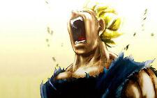 Poster A3 Dragon Ball Vegeta Super Saiyan