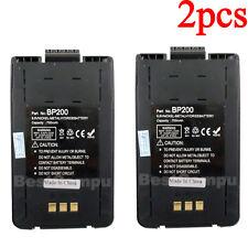 LOT2 BP-200 BP-200H New Battery for ICOM IC-A23 IC-A5 IC-T8 IC-T81