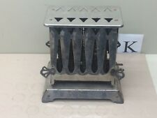 Vintage Silver Chrome Electric Toaster 2 Door USA