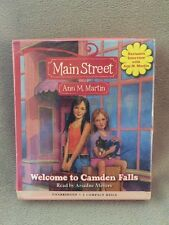 Main Street: Welcome to Camden Falls 1 by Ann M. Martin (2007, CD, Unabridged)