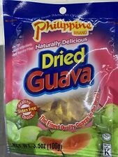 [5 Bags x 3.5 oz] Philippine Dried Guava Naturally Delicious Glutten Free Snack