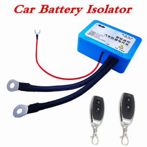 12V 180A Battery Remote Disconnect Cut Off Isolator Master Switch For Car Truck