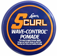 LUSTER'S S-CURL SCURL WAVE CONTROL POMADE  3 OZ.