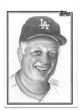 2018 Topps TOMMY LaSORDA Hand-Drawn Sketch Card TRUE 1/1 - Artist Signed 1 of 1