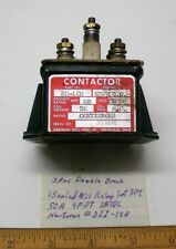 1 Mil Power Relay Sealed 28VDC, 50A, 4PDT, Hartman #DII-1SD, Lot 304, Made USA