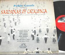 PABLO CASALS Presents Sardanas Of Catalonia RARE UK Angel Import SPAIN Spanish