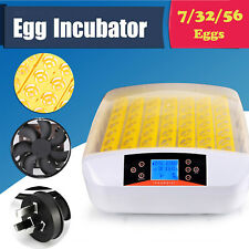7/32/56 Eggs Automatic Digital Hatcher Egg Incubator Turn Chicken Duck Bird Us