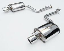 Invidia Q300 AxleBack Dual Exhaust for 13-15 IS250 IS350 RWD (Stainless Tips)