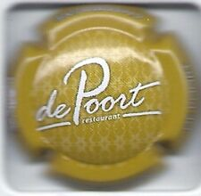 """Capsule de champagne Janisson-Baradon """"Restaurant De Poort"""" N°51"""