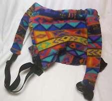 Ferret Carrier Frontpack Colorful Fleece Mesh Window