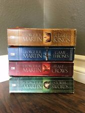 A GAME OF THRONES Books 1-4 Paperback (Mass) by George R. R. Martin