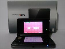 Nintendo 3DS Black Handheld System Plus Download Games Donkey Kong, Mario, Zelda