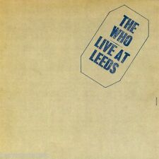 THE WHO ( NEW SEALED CD ) LIVE AT LEEDS