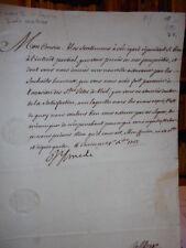 Lettera autografo Amedeo II di Savoia - Torino 4/2/1727
