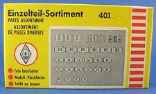 FALLER 401 - Einzelteile-Sortiment - Fenster und Türen - Spur H0 - Eisenbahn
