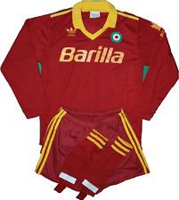 maglia roma barilla Voeller 1991 1992 adidas home anni 90 barilla vintage XS