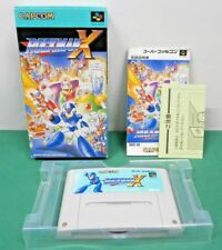 SNES -- ROCKMAN X MEGAMAN -- Boxed. Super famicom. Japan game. work fully. 13772