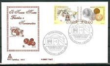 VATICANO - 2007 - Nuovo museo filatelico e numismatico su FDC Capitolium