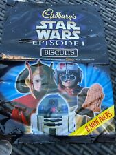 Cadburys Star Wars Episode 1 Biacuit Multipack Wrapper
