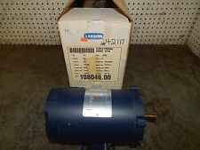 Leeson Electric 108046.00 Motor 1/3HP 1800RPM 12VoltsDC 27Amps US56C Frame