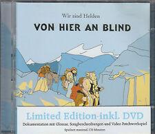 Wir sind Helden CD + DVD LIMITED EDITION  VON HIER AN BLIND