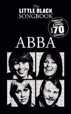 THE LITTLE BLACK SONG BOOK ABBA! 70 SONGS CHORDS/LYRICS GUITAR SONGBOOK