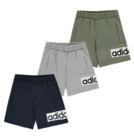 Boys Adidas Lightweight Breathable Classic Box Logo Shorts Sizes from 7 to 13