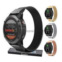 Milanese Loop Bracelet Watch Band Strap For Garmin Fenix 5 5X 5S Fenix 3 HR