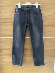 Joules Boys Washed Black Grey Jeans 5 Years