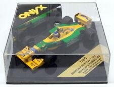Modellini statici di auto da corsa Michael Schumacher Benetton scala 1:43