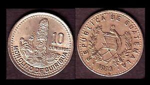 ★★ GUATEMALA ● 10 CENTAVOS 1993 ● E4 ★★